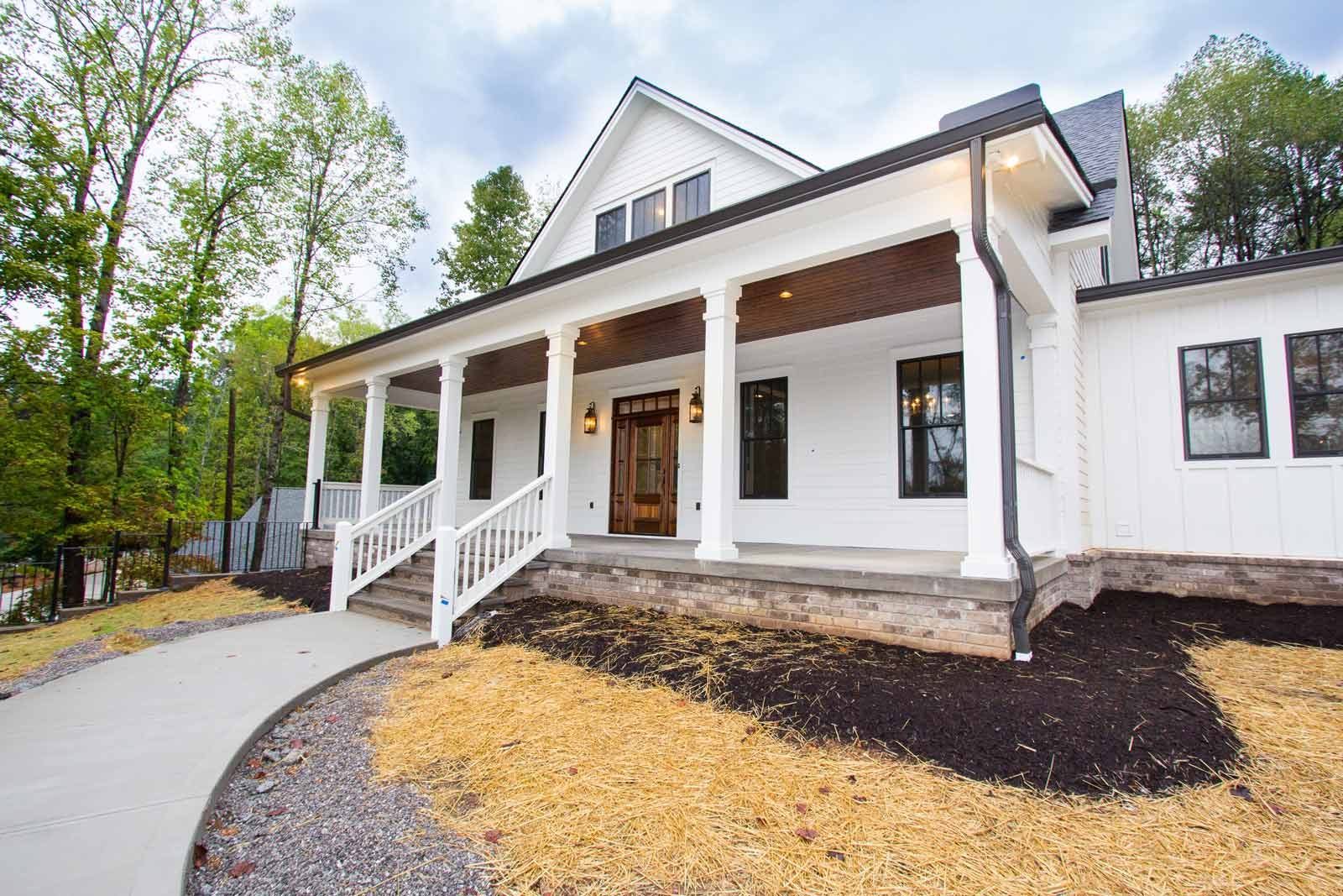 Low Country Turner Custom Homes Front Exterior