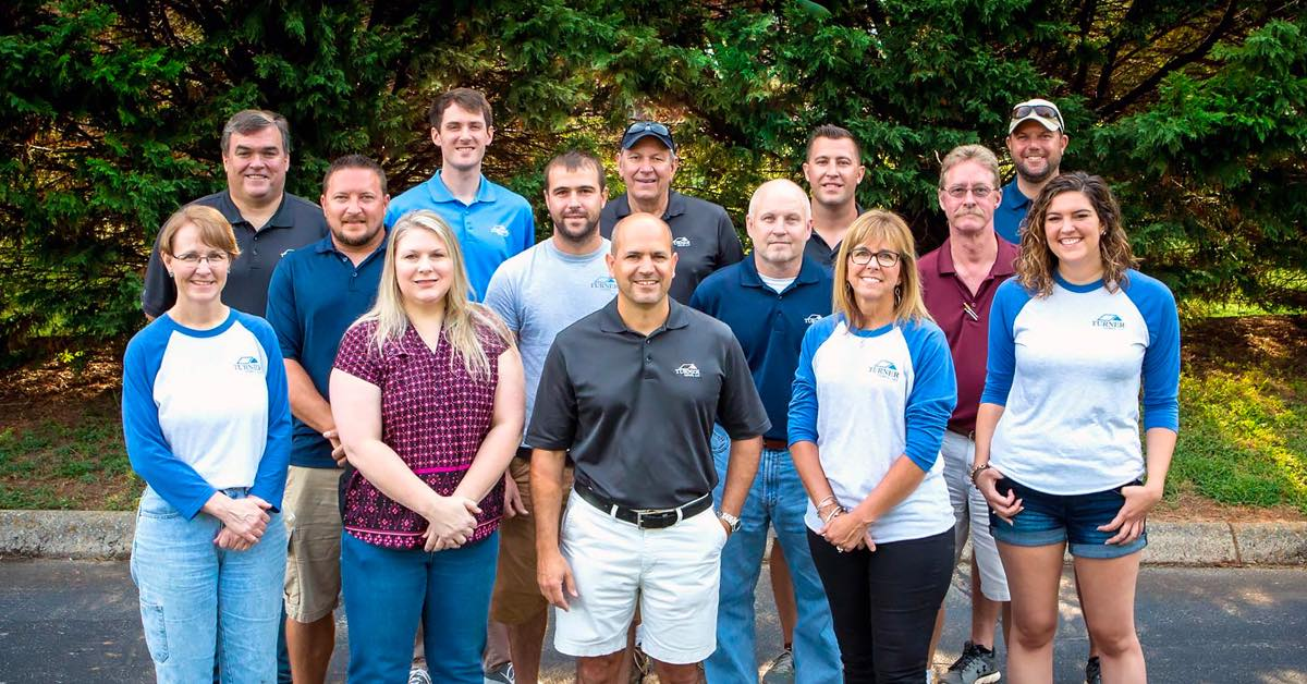 Turner Custom Homes staff