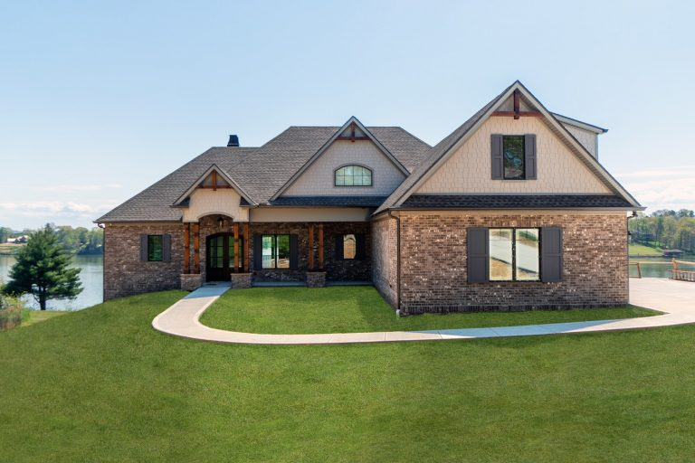 Turner Custom Homes Bluff Shore Exterior